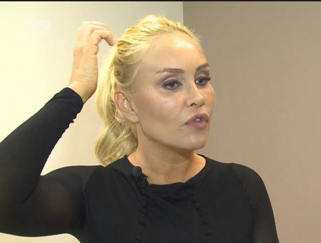 "Momente haioase cu Vica Blochina la emisiunea ""LaMaruta"" de la ""Pro Tv""."